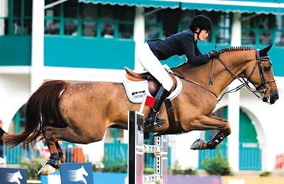 Скачок коня