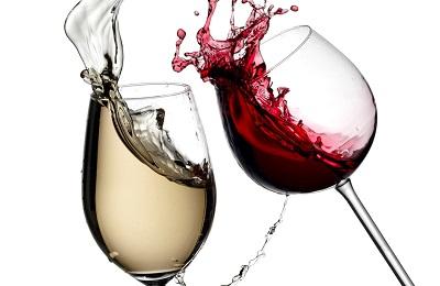 Белое и красное вино