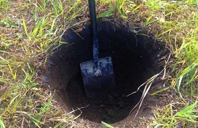 Выкапывание ямы