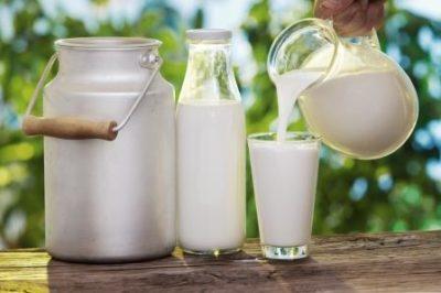 Молоко в бидоне